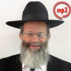 Rabbi Avrohom Baruch Zachariash - MP3
