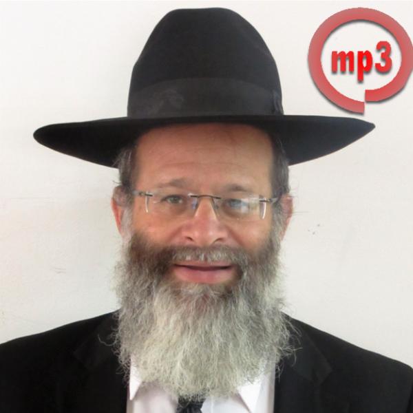 Rabbi Avrohom Baruch Zachariash - MP3